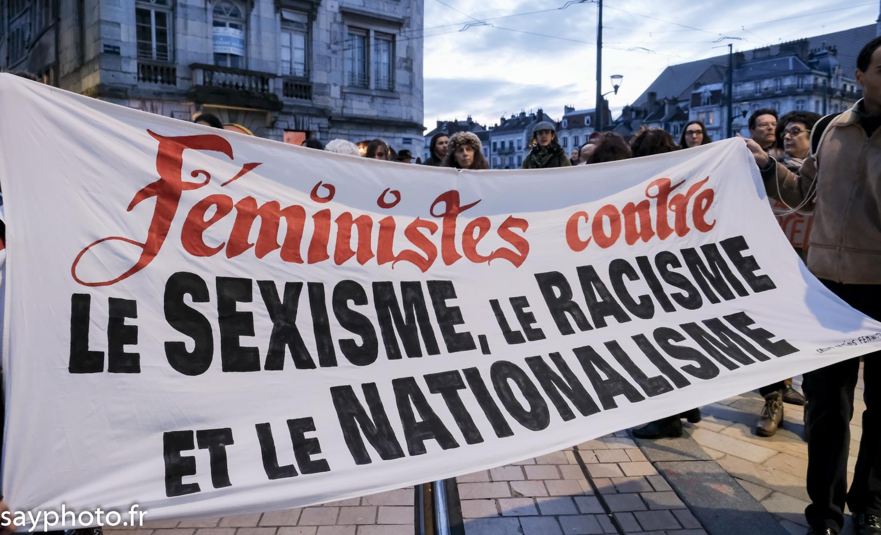 Besançon: Rassemblement et marche de nuit du 08 mars